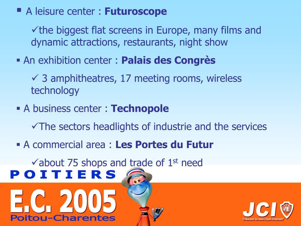 A leisure center :
