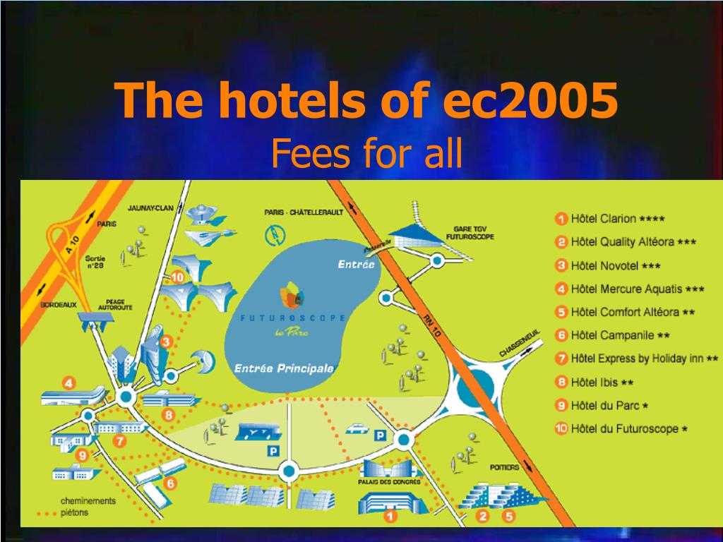 The hotels of ec2005