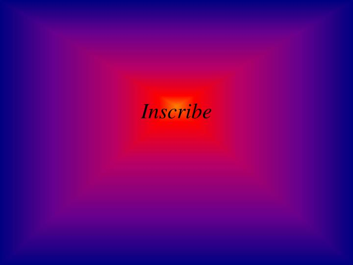 Inscribe
