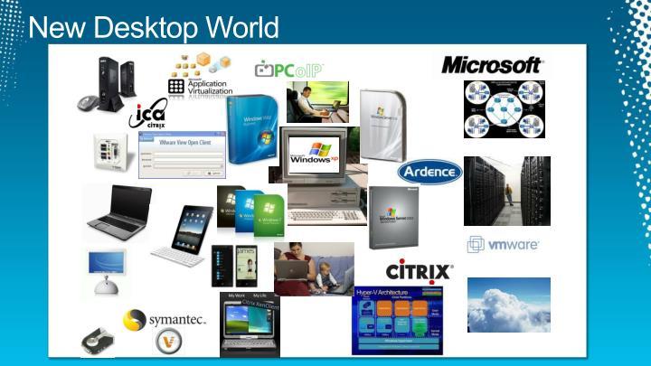 New Desktop World
