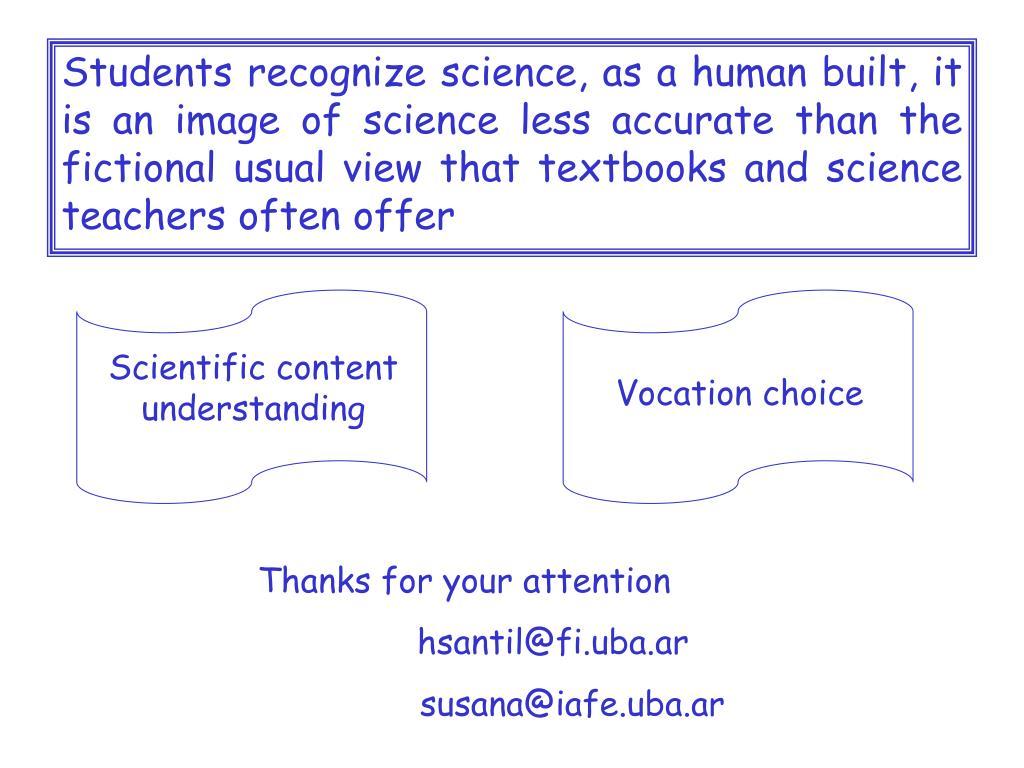 Scientific content understanding
