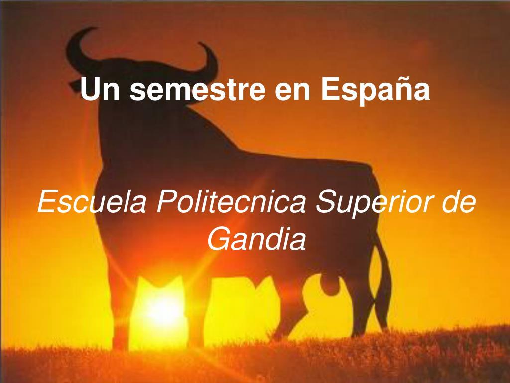 Un semestre en España