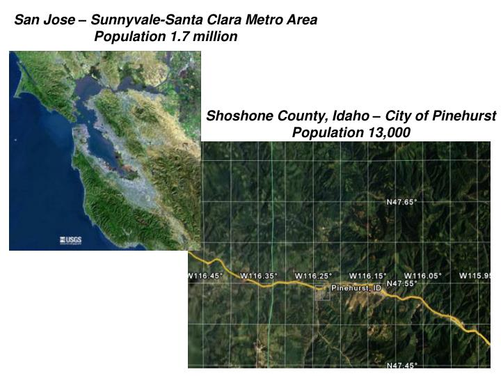 San Jose – Sunnyvale-Santa Clara Metro Area
