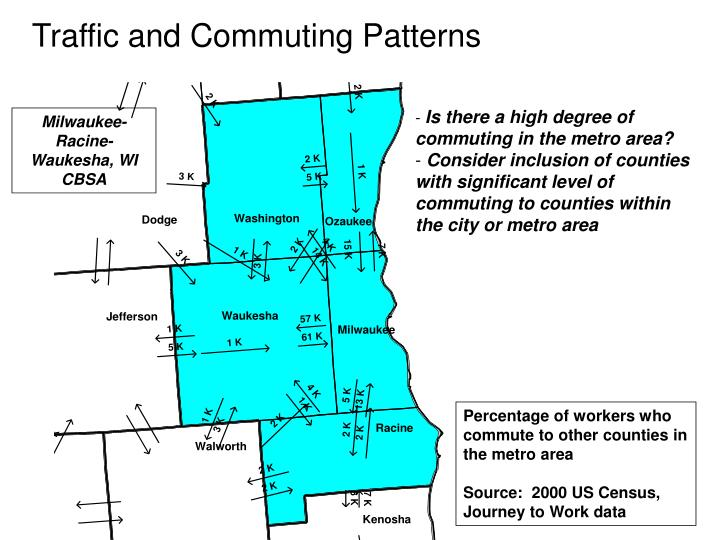 Traffic and Commuting Patterns
