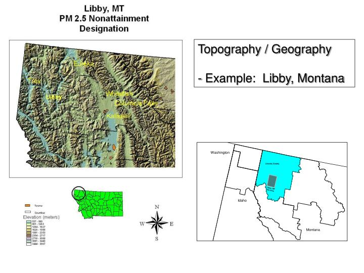 Topography / Geography