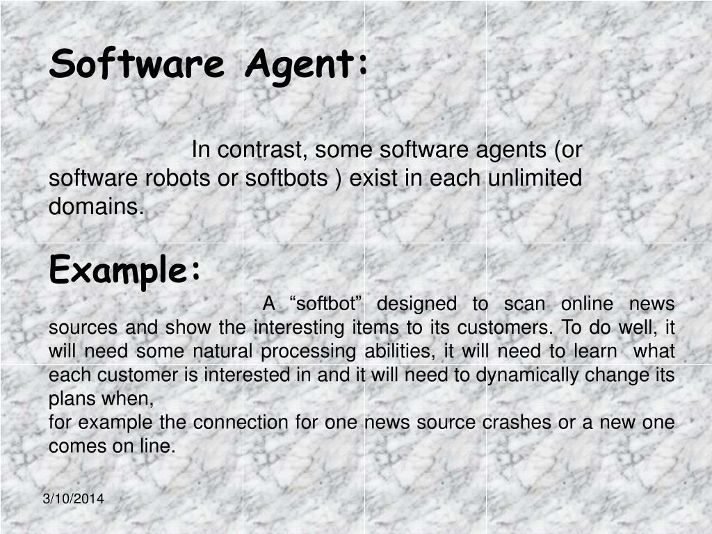 Software Agent: