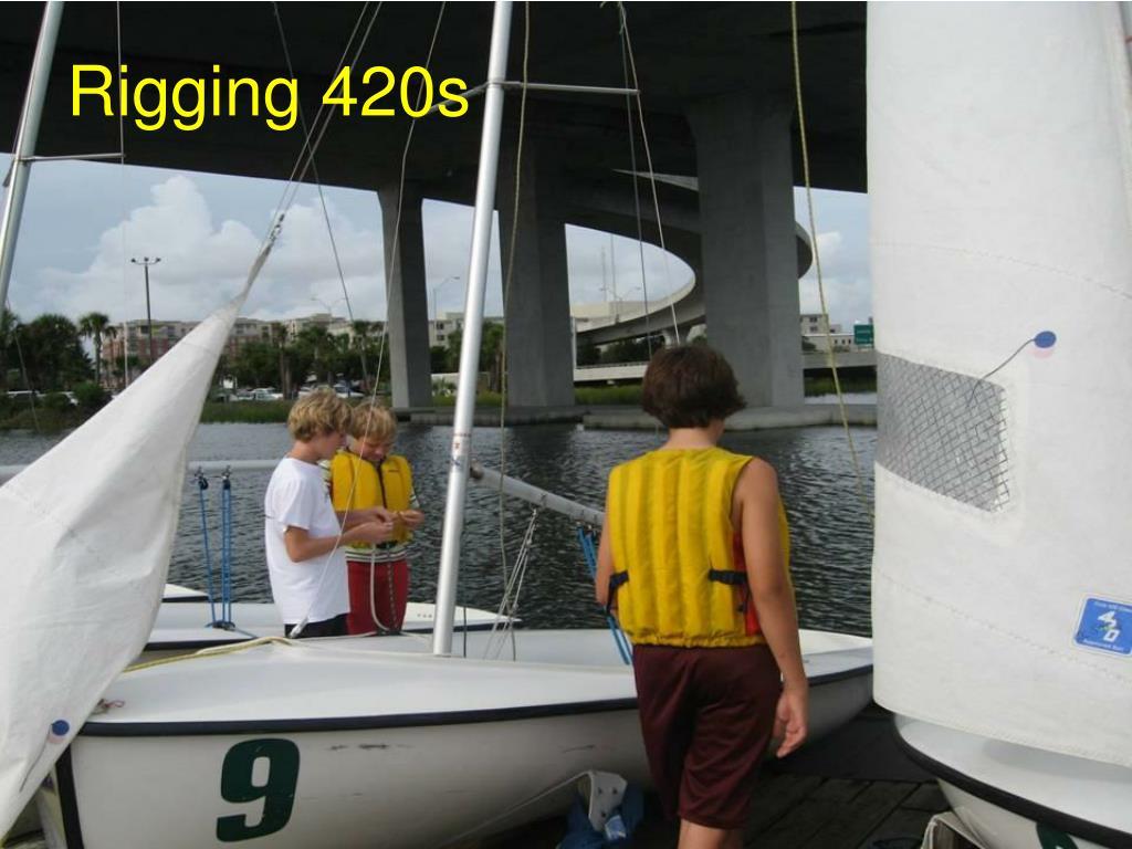 Rigging 420s