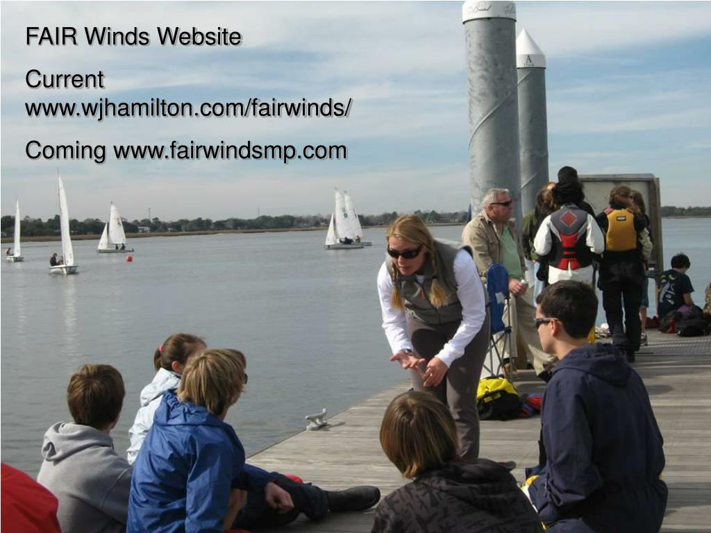 FAIR Winds Website