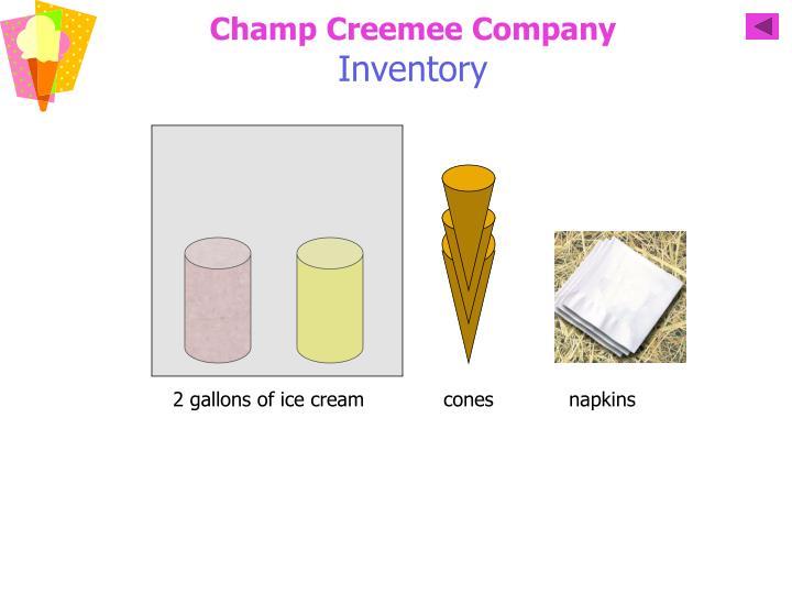 Champ Creemee Company