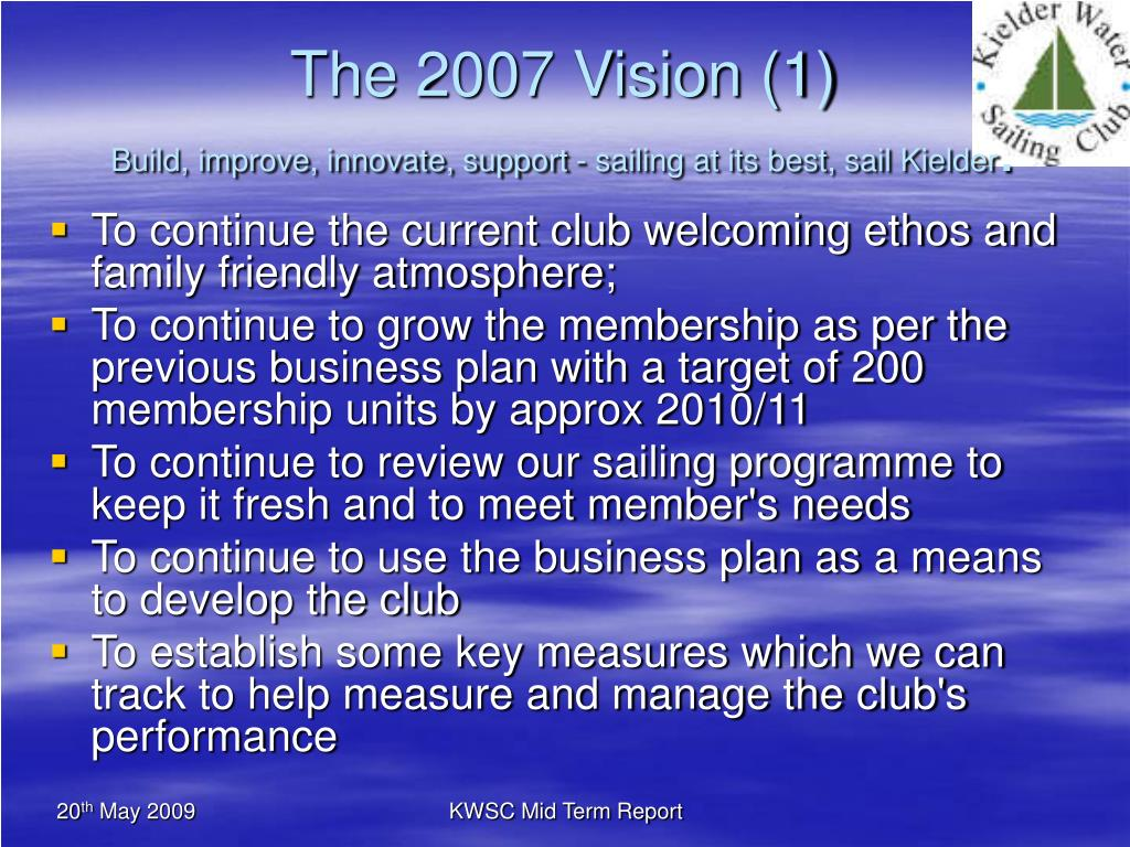 The 2007 Vision (1)