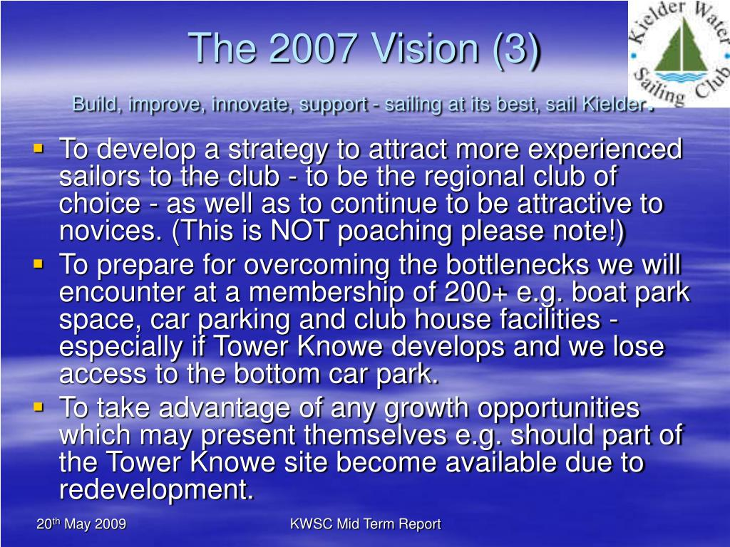 The 2007 Vision (3)
