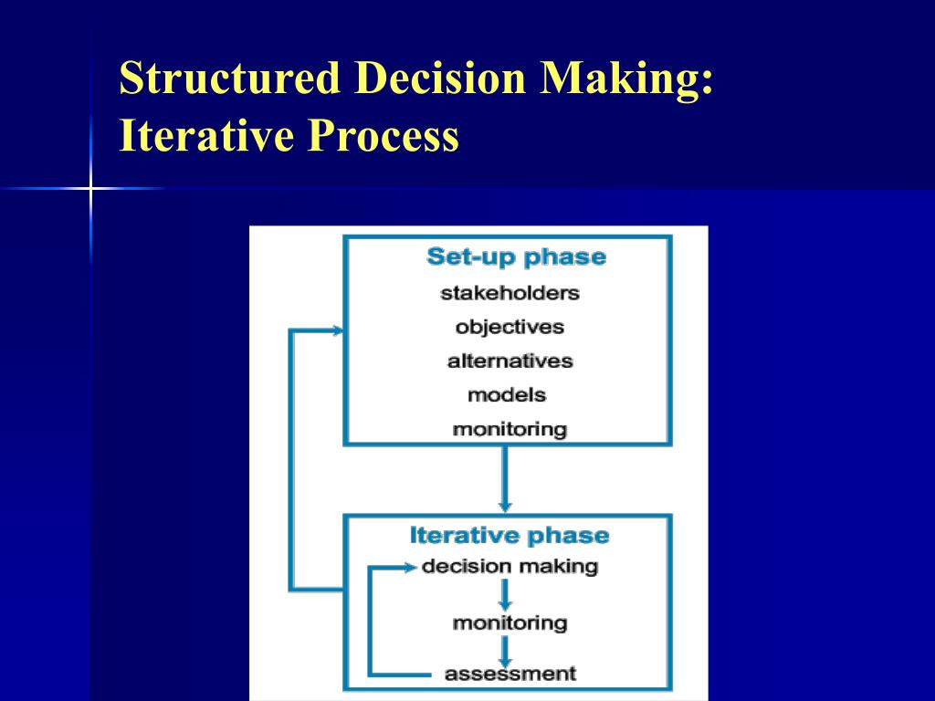 Structured Decision Making: Iterative Process