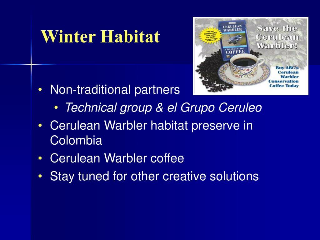 Winter Habitat