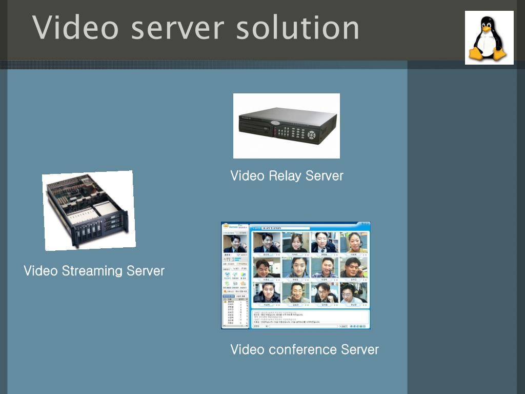 Video server solution