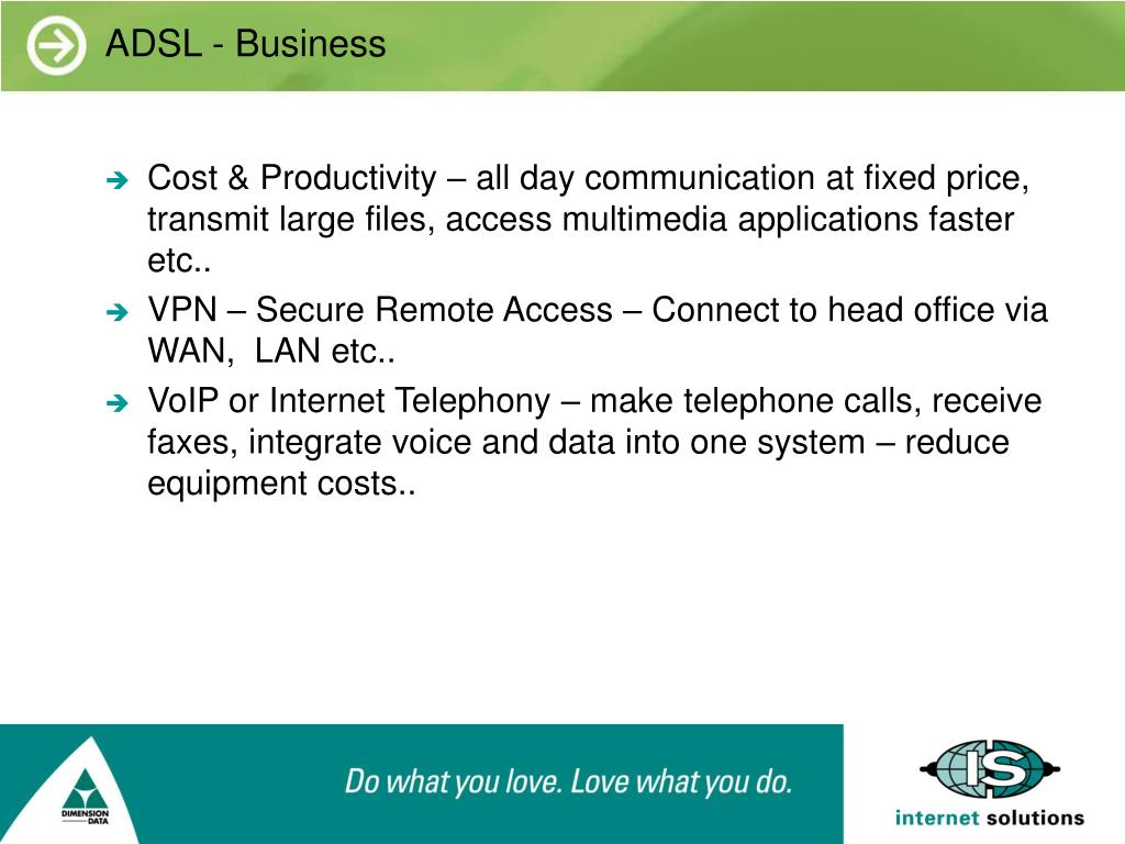 ADSL - Business