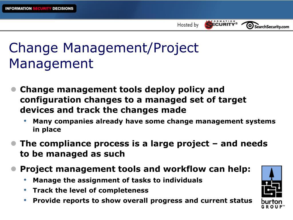 Change Management/Project Management