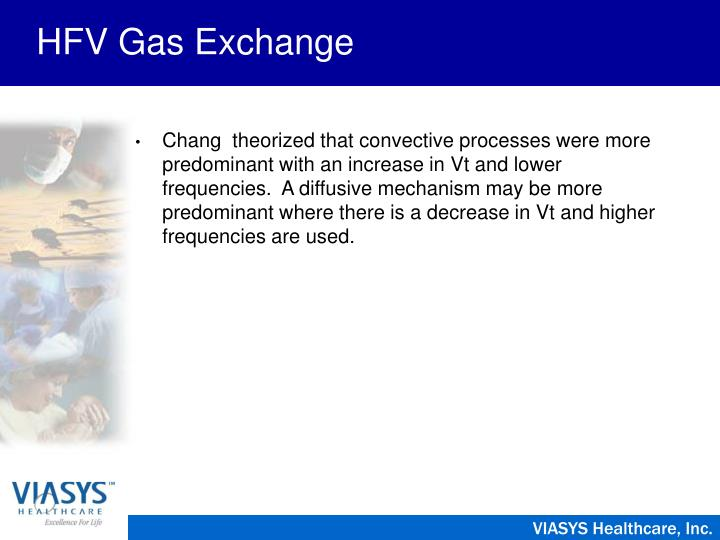 HFV Gas Exchange
