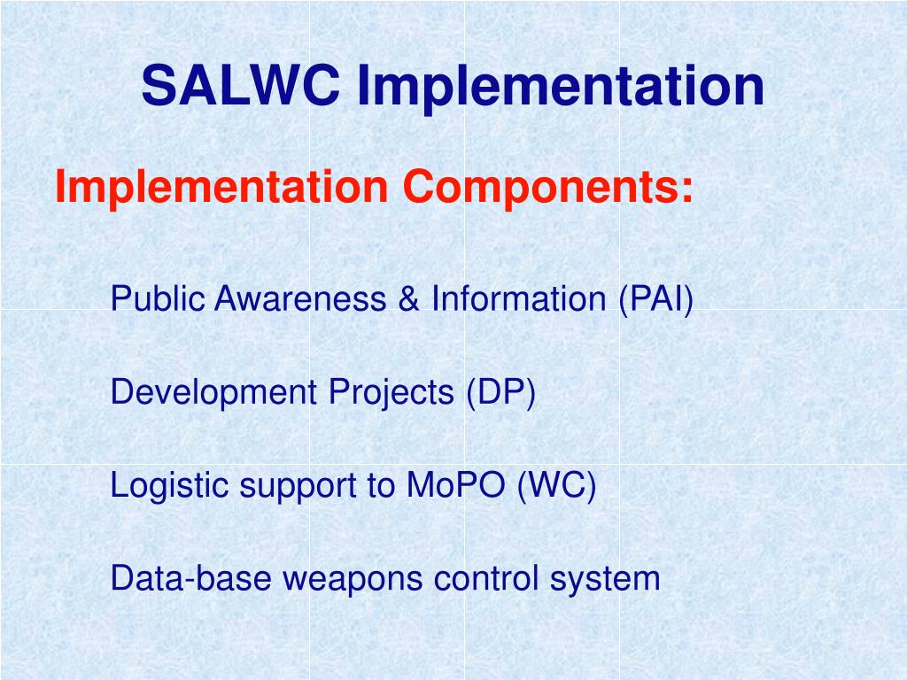 SALWC Implementation