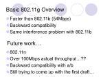 basic 802 11g overview