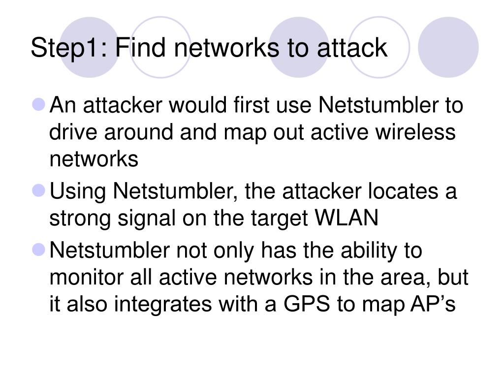 Step1: Find networks to attack