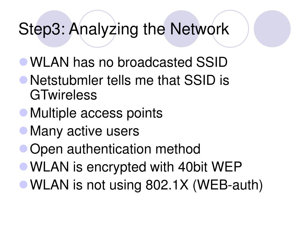 Step3: Analyzing the Network