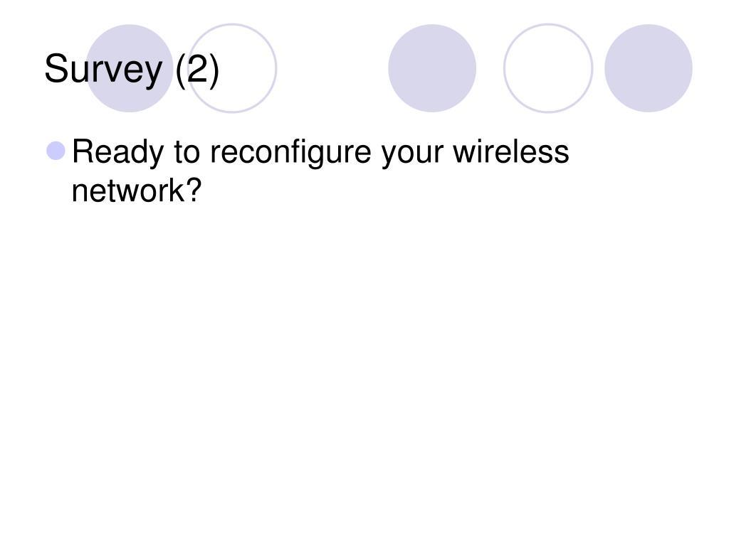 Survey (2)