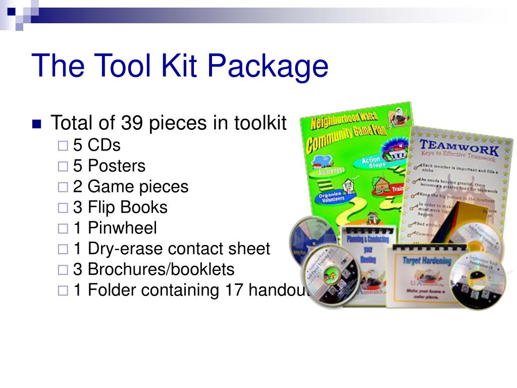 The Tool Kit Package