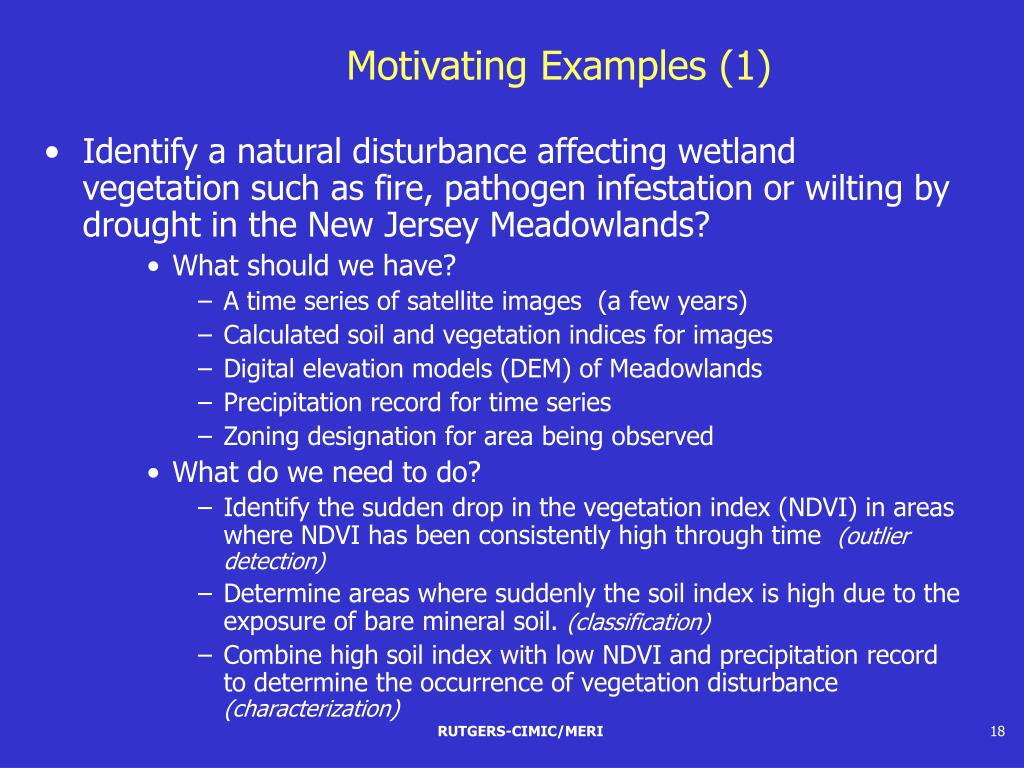 Motivating Examples (1)