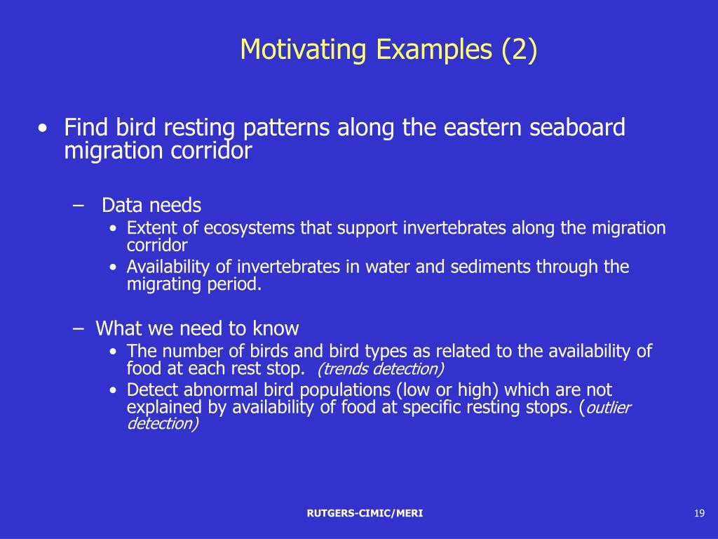 Motivating Examples (2)
