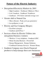 future of the electric industry