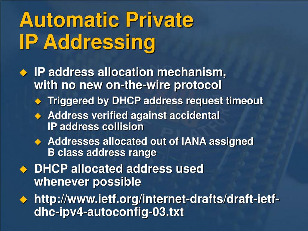 Automatic Private