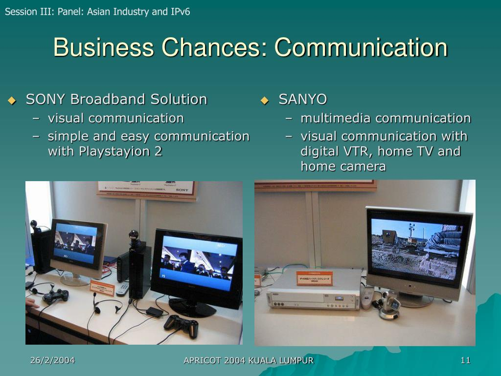 SONY Broadband Solution