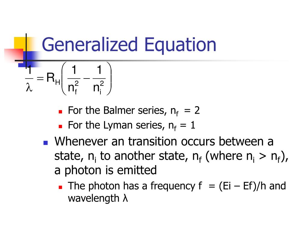 Generalized Equation