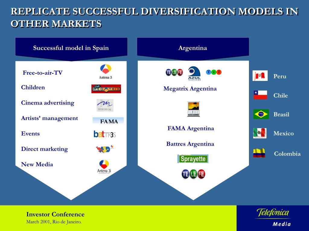 Successful model in Spain