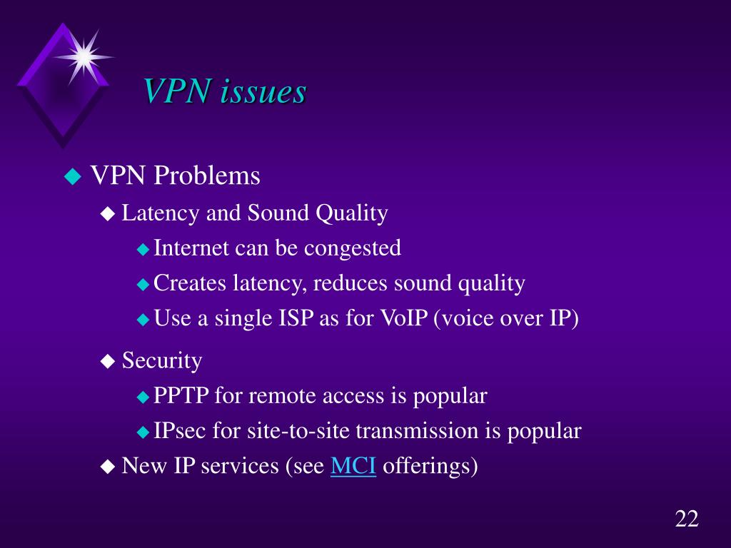 VPN issues