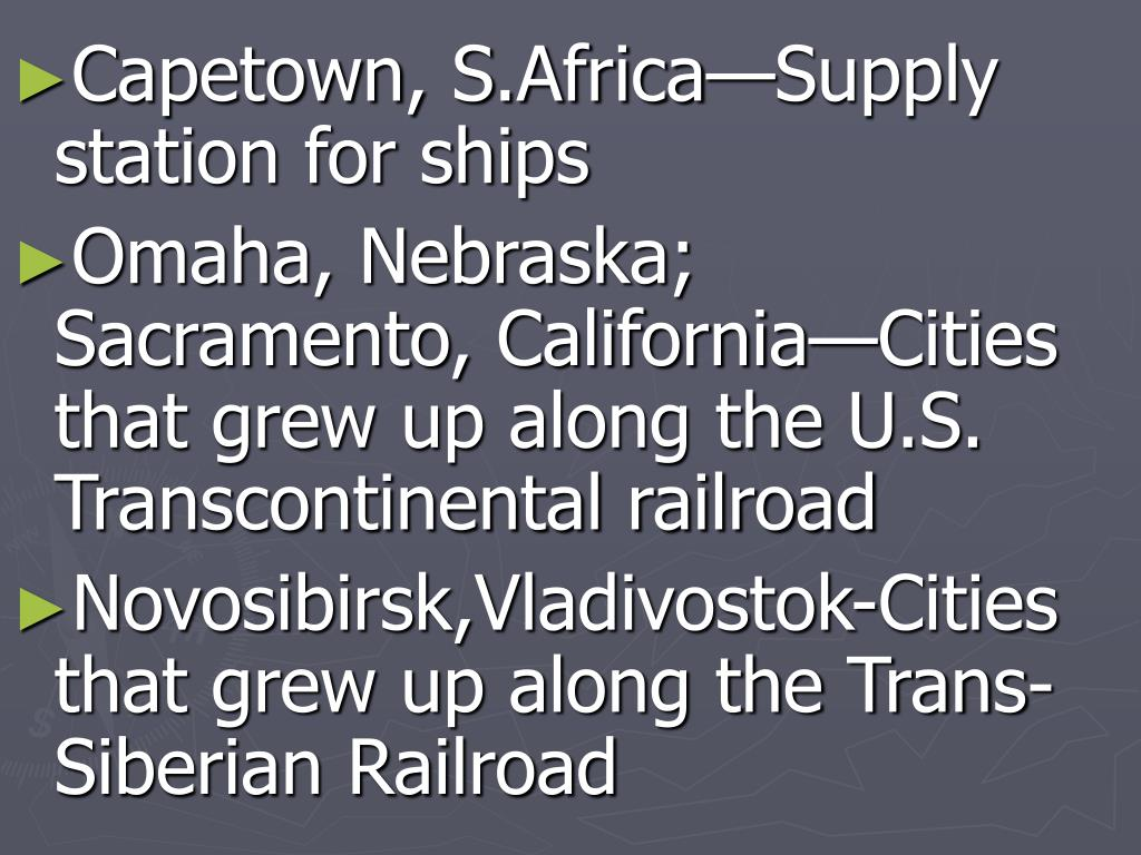 Capetown, S.Africa—Supply station for ships