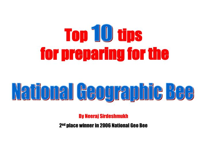 Top tips for preparing for the
