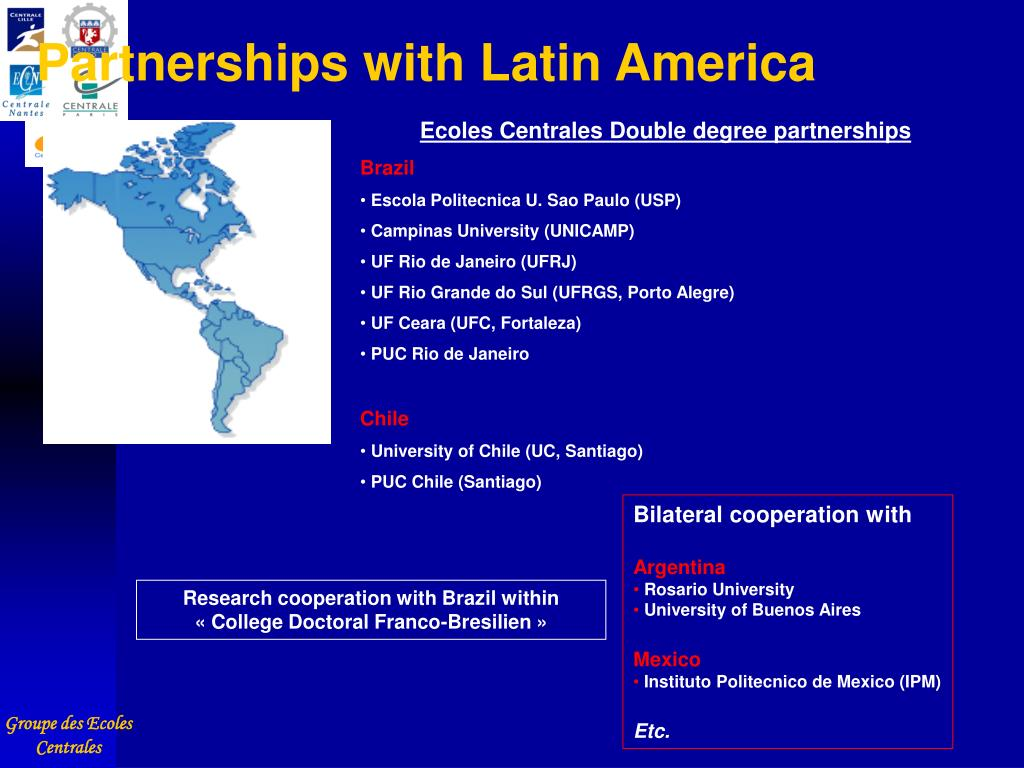 Partnerships with Latin America