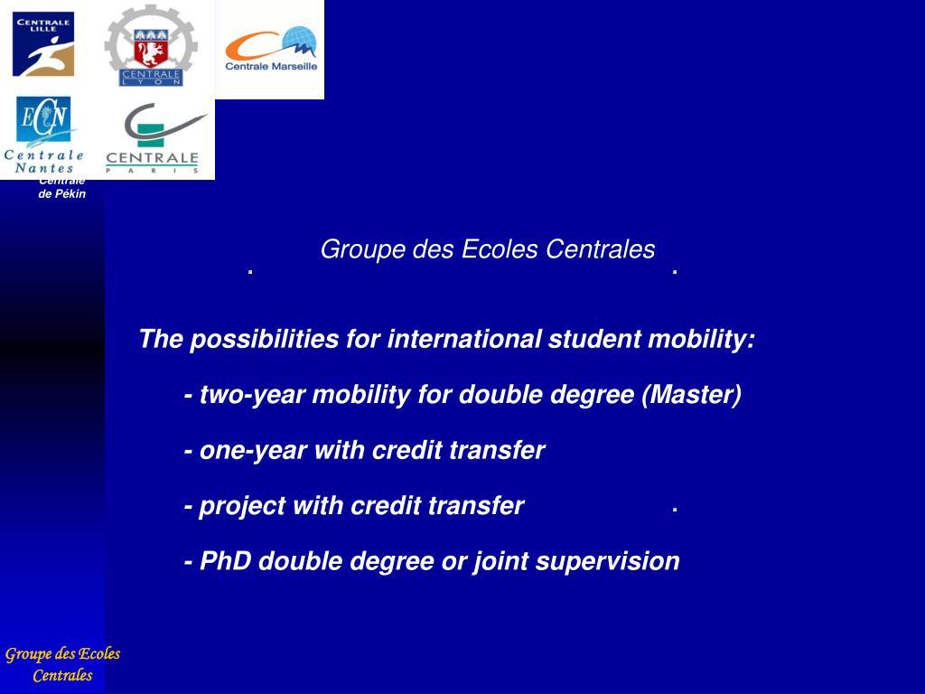 Groupe des Ecoles Centrales