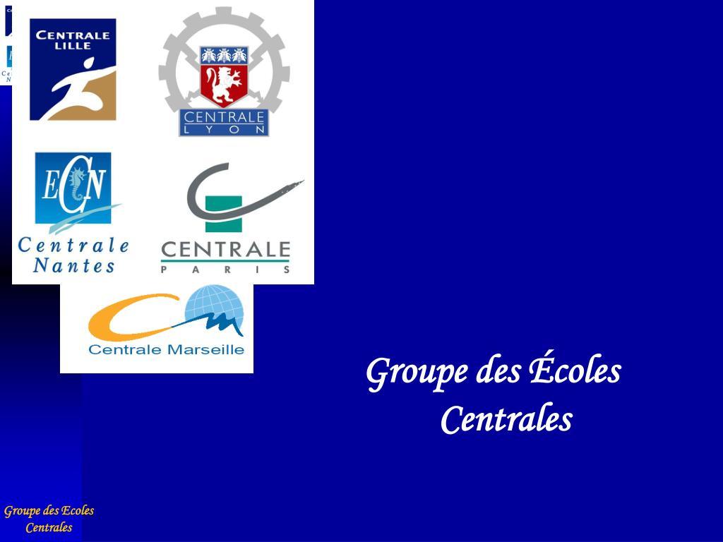 Groupe des Écoles Centrales