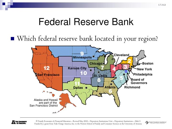 federal reserve presentation The federal reserve system is the central bank of the united states it's  composed of three key entities, including the board of governors, 12 federal  reserve.