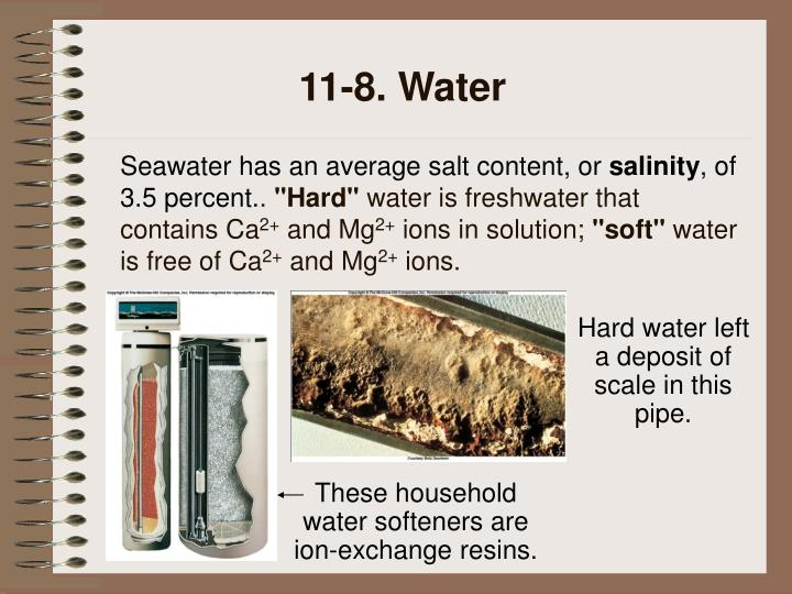 11-8. Water