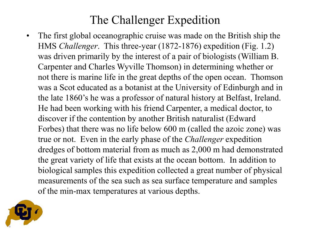 The Challenger Expedition