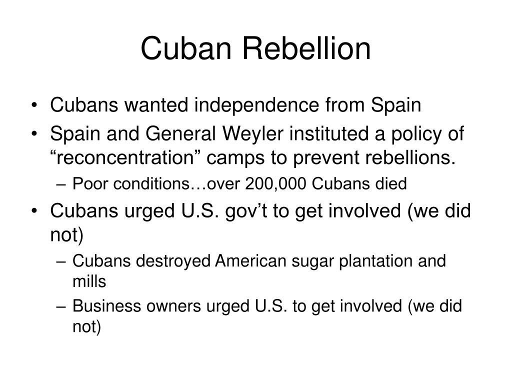 Cuban Rebellion
