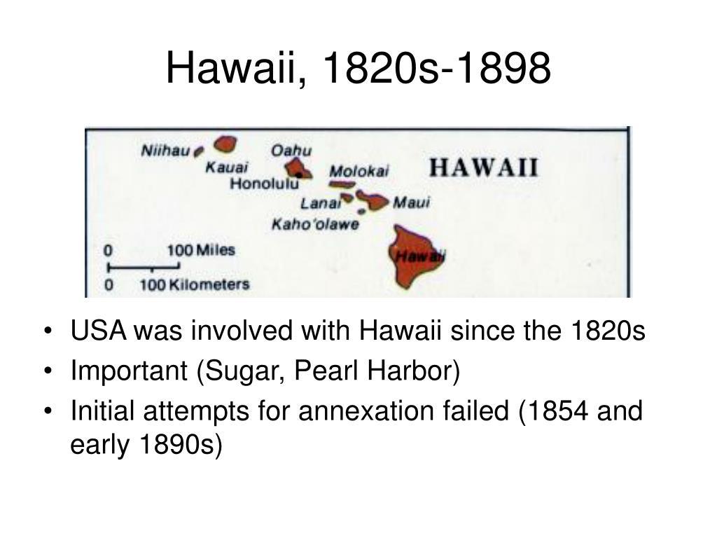 Hawaii, 1820s-1898