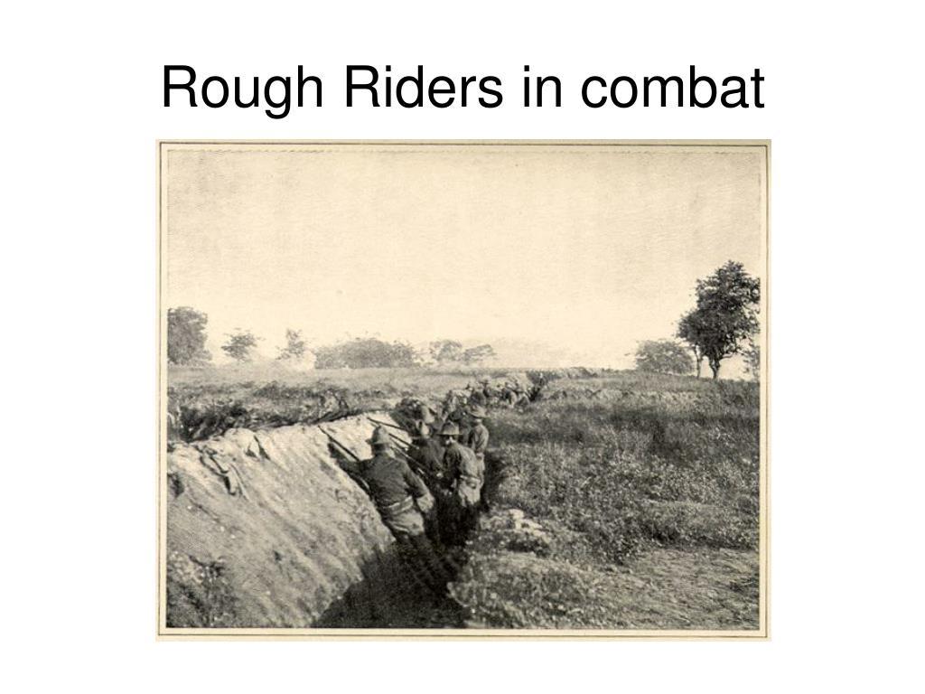 Rough Riders in combat