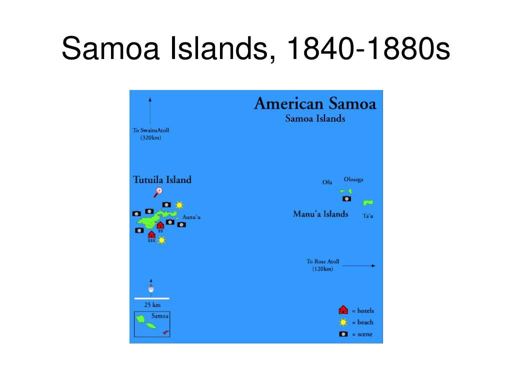 Samoa Islands, 1840-1880s