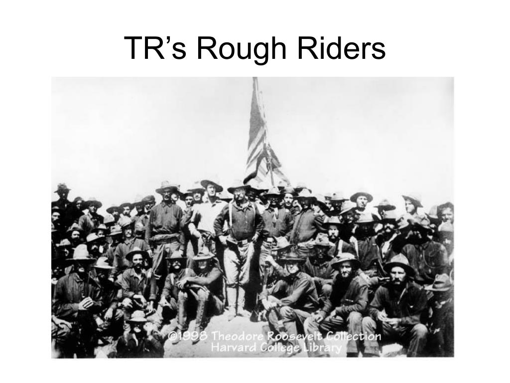 TR's Rough Riders