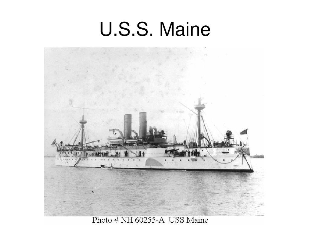 U.S.S. Maine