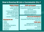 how to develop hk into a sustainable city35